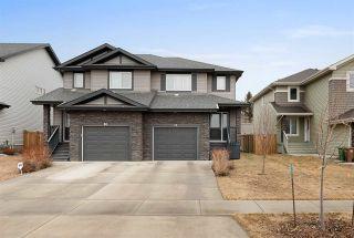 Photo 1: 40 ROYAL Street: St. Albert House Half Duplex for sale : MLS®# E4234909
