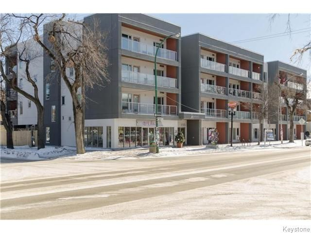 Main Photo: 155 Sherbrook Street in Winnipeg: West End / Wolseley Condominium for sale (West Winnipeg)  : MLS®# 1604815