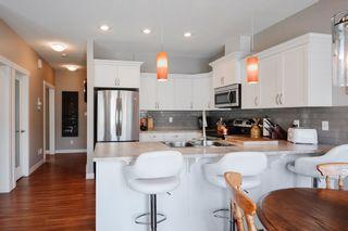Photo 12: 4073 ALLAN Crescent in Edmonton: Zone 56 House Half Duplex for sale : MLS®# E4256367