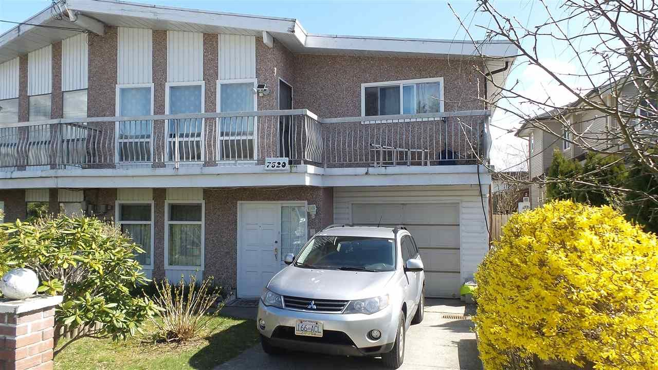 Main Photo: 7520 19TH AVENUE in Burnaby: Edmonds BE 1/2 Duplex for sale (Burnaby East)  : MLS®# R2253712