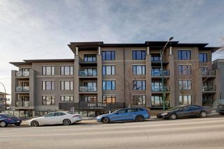 Main Photo: 302 1805 25 Avenue SW in Calgary: South Calgary Apartment for sale : MLS®# A1080639