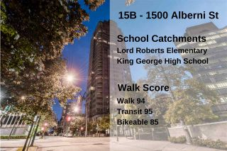Photo 33: 15B 1500 ALBERNI STREET in Vancouver: West End VW Condo for sale (Vancouver West)  : MLS®# R2468252