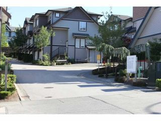 "Photo 1: 37 14462 61A Avenue in Surrey: Sullivan Station Townhouse for sale in ""RAVINA"" : MLS®# F1444096"
