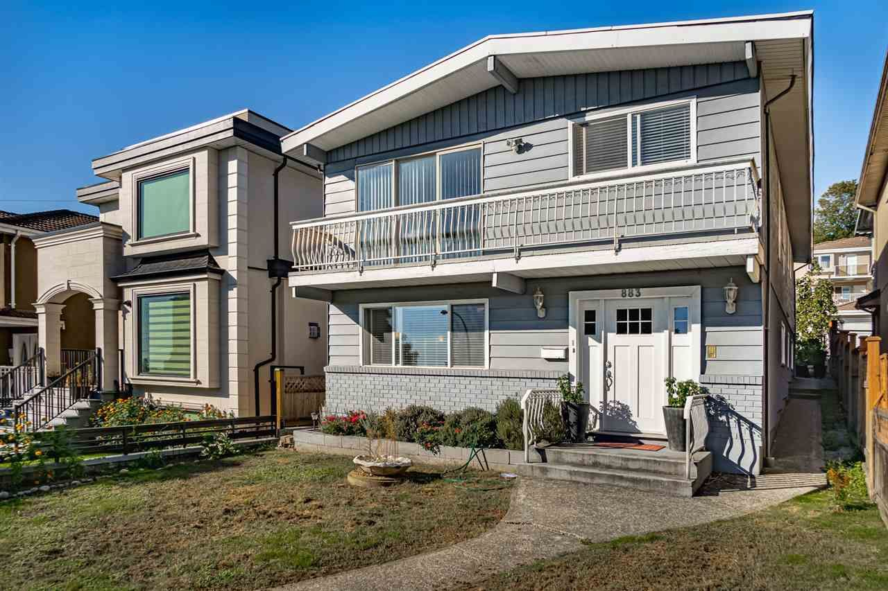 Main Photo: 883 E 63RD AVENUE in : South Vancouver House for sale : MLS®# R2533112