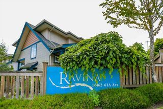 "Photo 1: 16 14462 61A Avenue in Surrey: Sullivan Station Townhouse for sale in ""RAVINA"" : MLS®# R2291990"