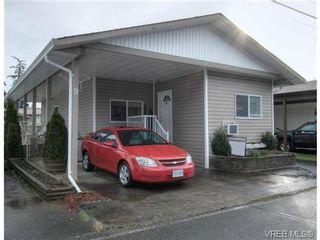 Photo 1: 9 2911 Sooke Lake Rd in VICTORIA: La Goldstream Manufactured Home for sale (Langford)  : MLS®# 629320