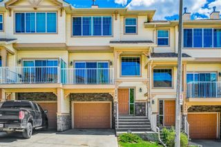 Photo 1: 298 SUNSET Point: Cochrane Row/Townhouse for sale : MLS®# A1033505