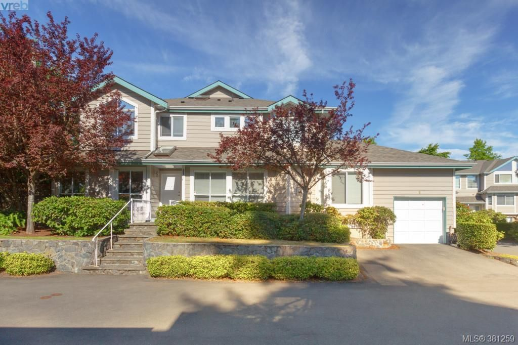 Main Photo: 8 4619 Elk Lake Drive in VICTORIA: SW Royal Oak Townhouse for sale (Saanich West)  : MLS(r) # 381259