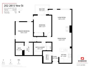 Photo 28: 202 2815 YEW Street in Vancouver: Kitsilano Condo for sale (Vancouver West)  : MLS®# R2619527
