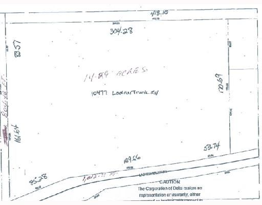 Main Photo: 10477 Ladner Trunk Road in Delta, Ladner: Land for sale (Ladner)  : MLS®# V728366