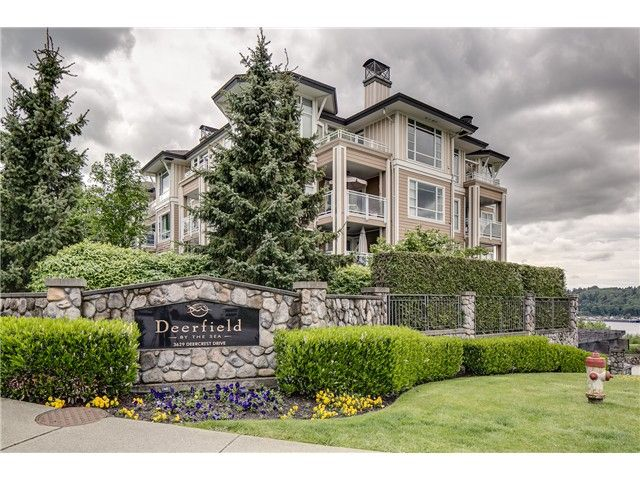 """Main Photo: # 430 3629 DEERCREST DR in North Vancouver: Roche Point Condo for sale in """"RAVENWOODS-DEERFEILD BY THE SEA"""" : MLS®# V1045291"""