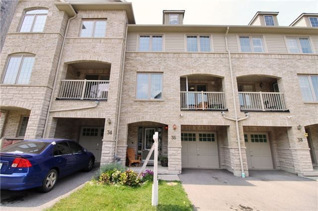 Main Photo: 36 Linnell Street in Ajax: Central East House (3-Storey) for sale : MLS®# E4220821