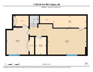 Photo 35: 1 1528 29 Avenue SW in Calgary: South Calgary Row/Townhouse for sale : MLS®# A1129714
