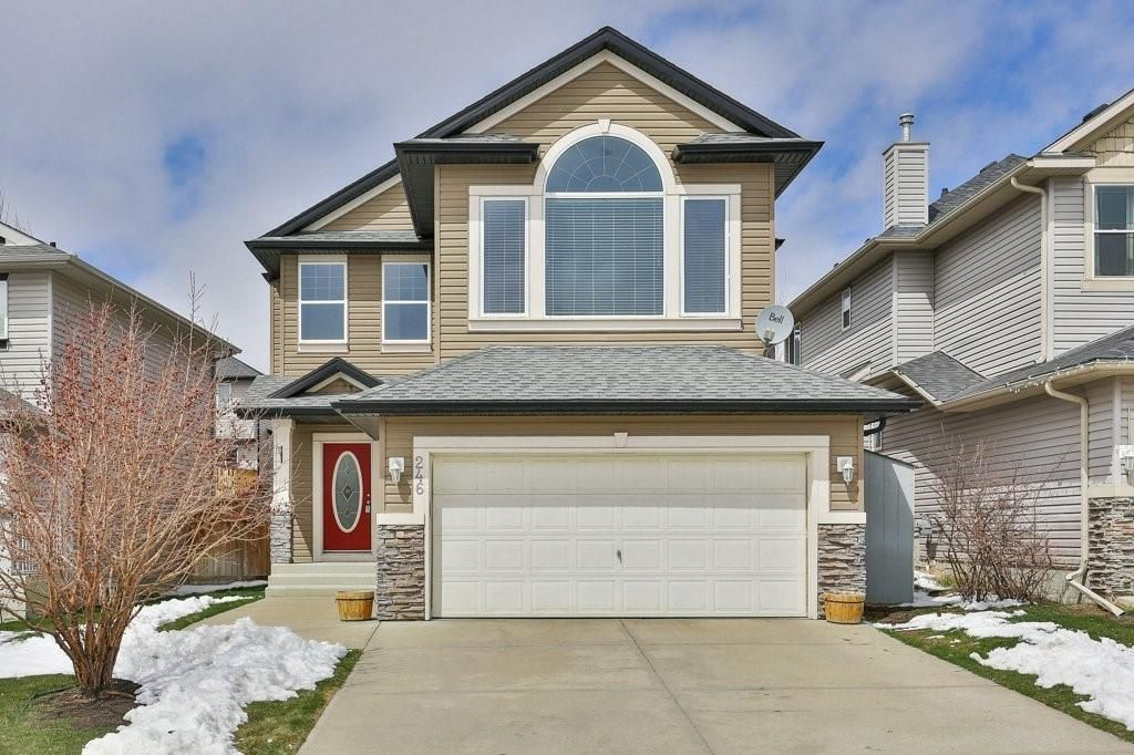 Great curb appeal of 246 Citadel Estates Heights
