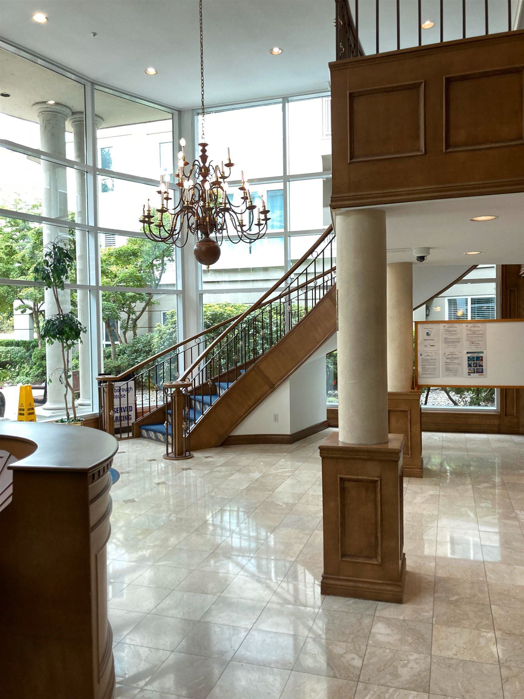 """Main Photo: 201 3098 GUILDFORD Way in Coquitlam: North Coquitlam Condo for sale in """"MARLBOBOUGH HOUSE"""" : MLS®# R2608992"""