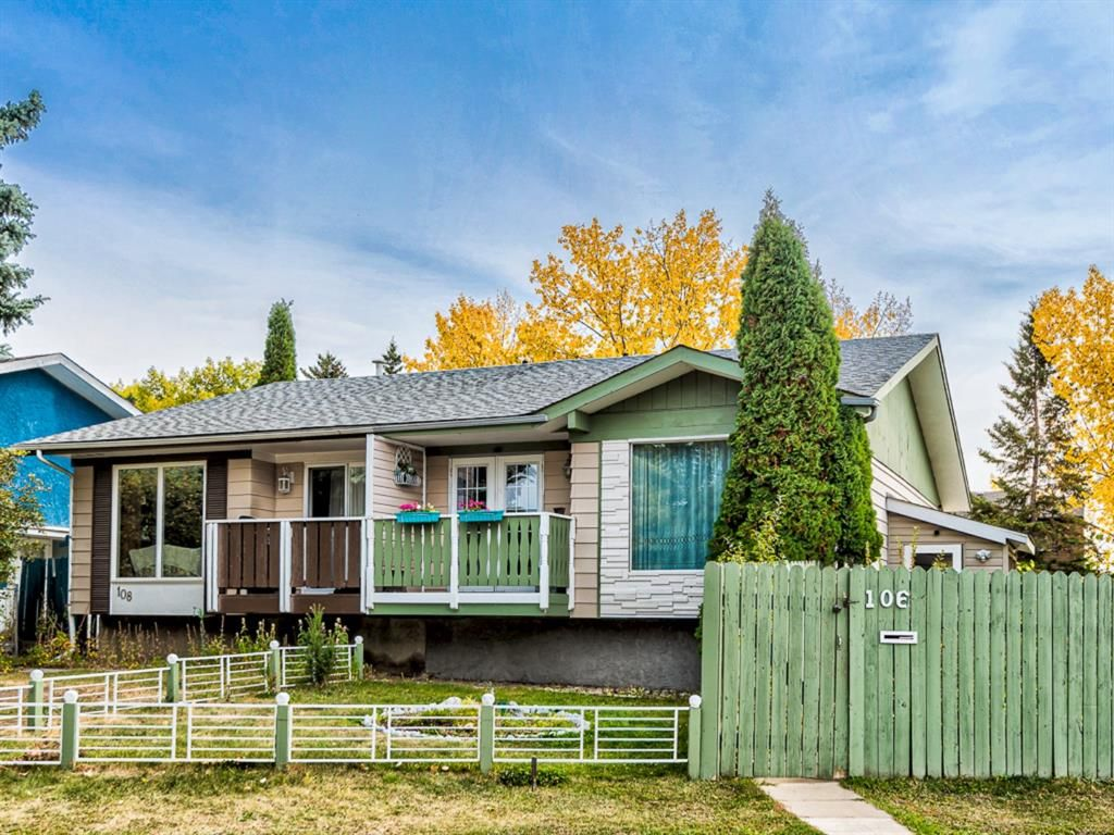 Main Photo: 106 Abalone Place NE in Calgary: Abbeydale Semi Detached for sale : MLS®# A1039180