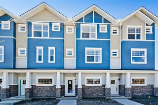 Photo 1: 504 115 Sagewood Drive: Airdrie Row/Townhouse for sale : MLS®# A1059730