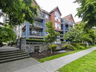 """Photo 1: 108 1200 EASTWOOD Street in Coquitlam: North Coquitlam Condo for sale in """"LAKESIDE TERRACE"""" : MLS®# R2466564"""