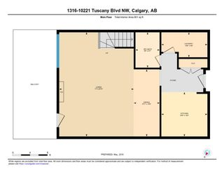 Photo 31: 1316 10221 Tuscany Boulevard NW in Calgary: Tuscany Apartment for sale : MLS®# A1097944