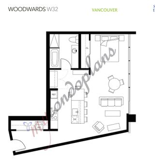 "Photo 19: 1203 108 W CORDOVA Street in Vancouver: Downtown VW Condo for sale in ""Woodward W32"" (Vancouver West)  : MLS®# R2111852"