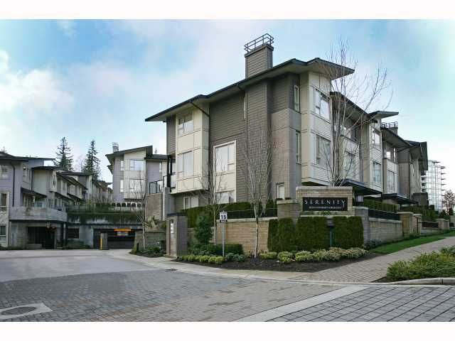 """Main Photo: 66 9229 UNIVERSITY Crescent in Burnaby: Simon Fraser Univer. Townhouse for sale in """"SERENITY"""" (Burnaby North)  : MLS®# V815319"""