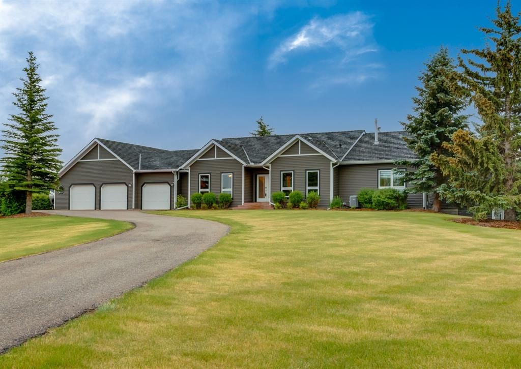 Main Photo: 38 Springland Manor Drive in Rural Rocky View County: Rural Rocky View MD Detached for sale : MLS®# A1127056