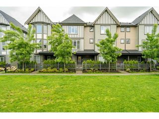"""Photo 1: 45 8050 204 Street in Langley: Willoughby Heights Townhouse for sale in """"Ashbury & Oak South"""" : MLS®# R2457635"""