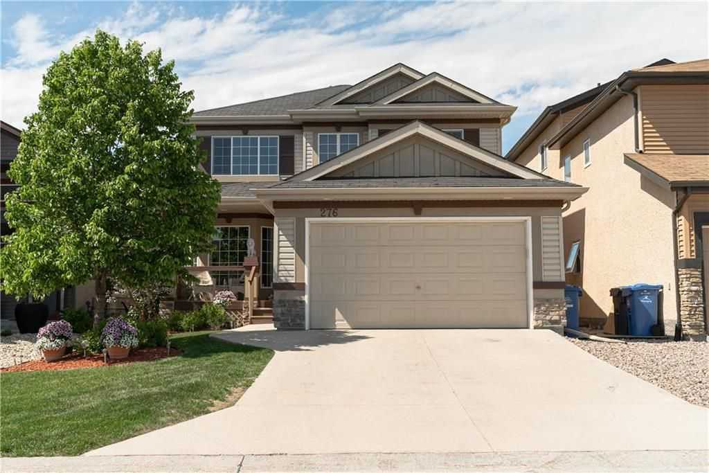Main Photo: 276 Edmund Gale Drive in Winnipeg: Canterbury Park Residential for sale (3M)  : MLS®# 202114290