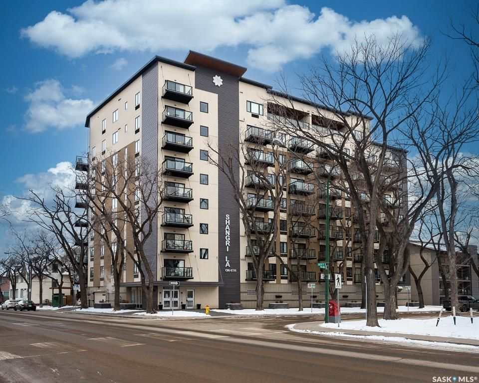 Main Photo: 708 550 4th Avenue North in Saskatoon: City Park Residential for sale : MLS®# SK837789