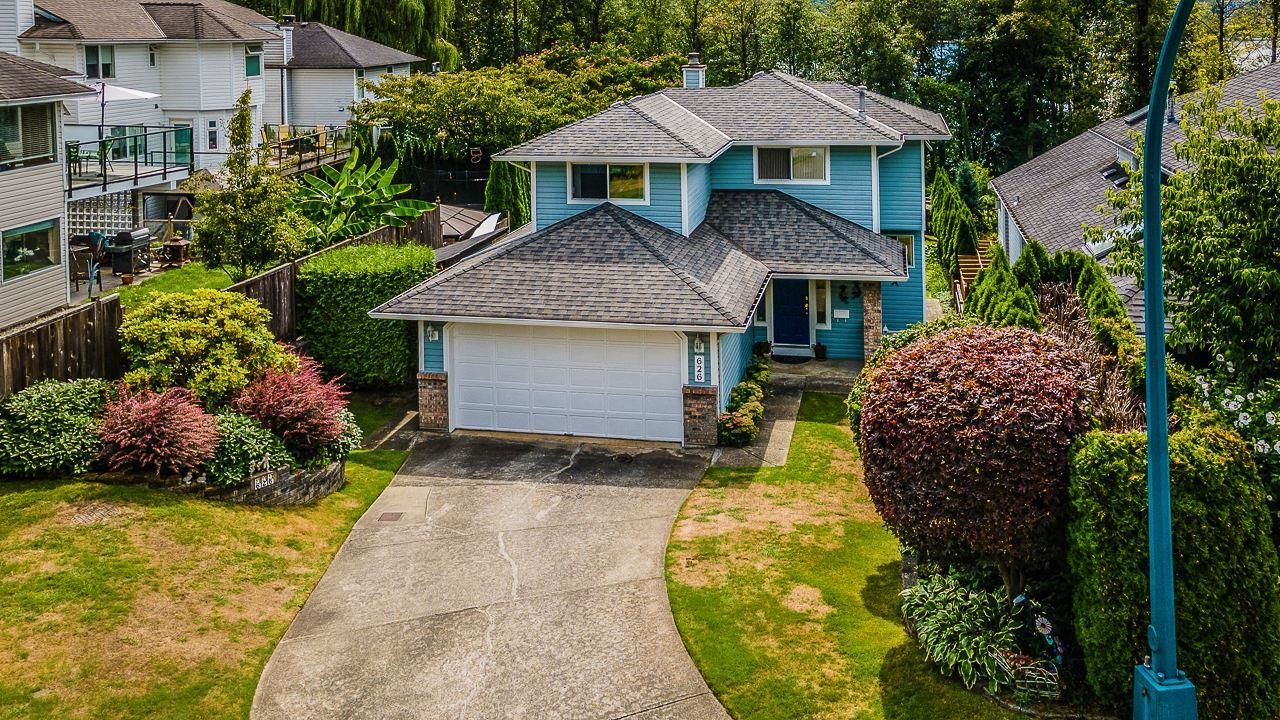 Main Photo: 626 BENTLEY Road in Port Moody: North Shore Pt Moody House for sale : MLS®# R2613182