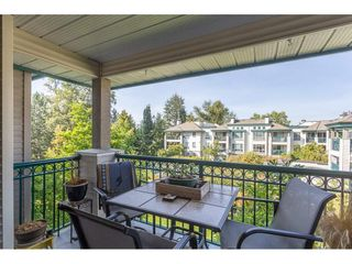 """Photo 20: 323 19528 FRASER Highway in Surrey: Cloverdale BC Condo for sale in """"FAIRMONT"""" (Cloverdale)  : MLS®# R2310771"""
