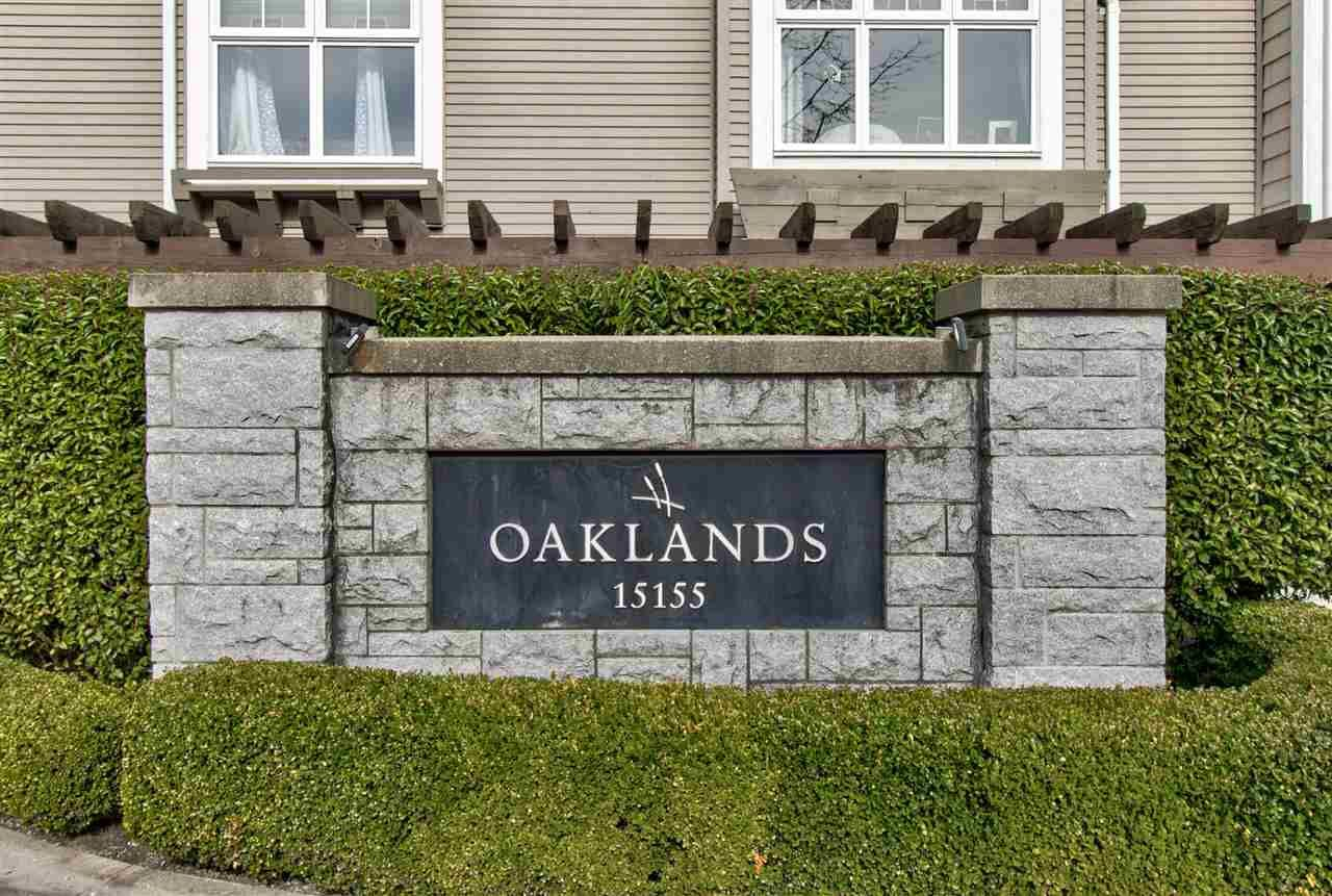 "Main Photo: 29 15155 62A Avenue in Surrey: Sullivan Station Townhouse for sale in ""Oakland"" : MLS®# R2552301"