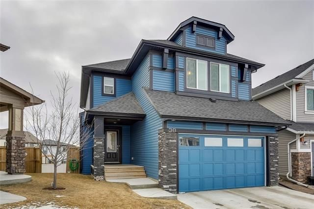 Main Photo: 38 Hillcrest Terrace SW in Airdrie: Hillcrest House  : MLS®# c4224005