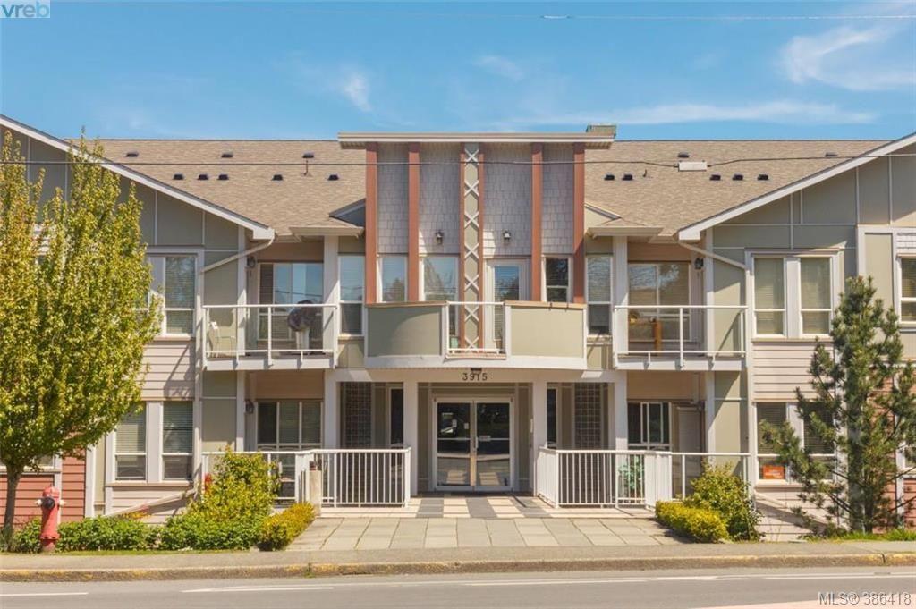 Main Photo: 206 3915 Carey Rd in VICTORIA: SW Tillicum Condo for sale (Saanich West)  : MLS®# 776580