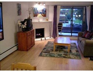 """Photo 1: 109 9202 HORNE Street in Burnaby: Government Road Condo for sale in """"LOUGHEED ESTATES"""" (Burnaby North)  : MLS®# V632407"""