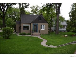Photo 1: 272 Scotia Street in Winnipeg: West Kildonan / Garden City Residential for sale (North West Winnipeg)  : MLS®# 1613575