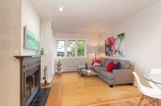 """Photo 2: 2415 W 6TH Avenue in Vancouver: Kitsilano Townhouse for sale in """"Cute Place In Kitsilano"""" (Vancouver West)  : MLS®# R2129865"""