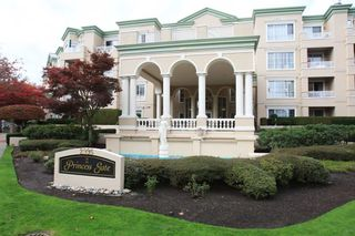 """Photo 1: 326 2995 PRINCESS Crescent in Coquitlam: Canyon Springs Condo for sale in """"PRINCESS GATE"""" : MLS®# R2010862"""