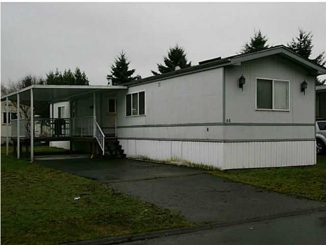 """Main Photo: 68 145 KING EDWARD Street in Coquitlam: Maillardville Manufactured Home for sale in """"MILL CREEK"""" : MLS®# V1016125"""