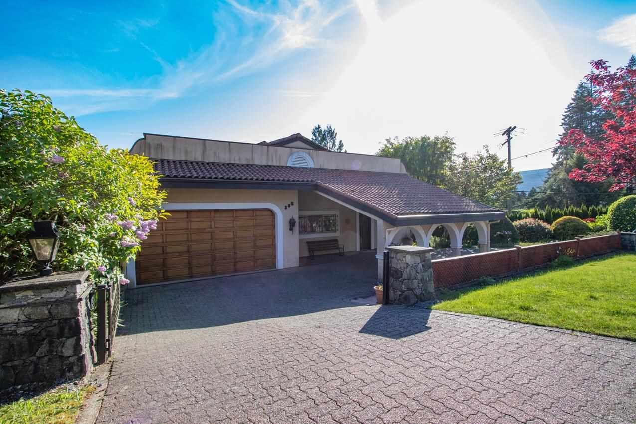 Main Photo: 385 MONTERAY Avenue in North Vancouver: Upper Delbrook House for sale : MLS®# R2582994