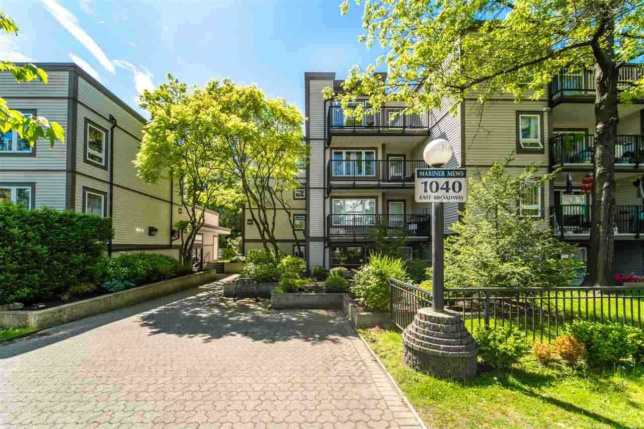 """Main Photo: 311 1040 E BROADWAY in Vancouver: Mount Pleasant VE Condo for sale in """"Mariner Mews"""" (Vancouver East)  : MLS®# R2504860"""