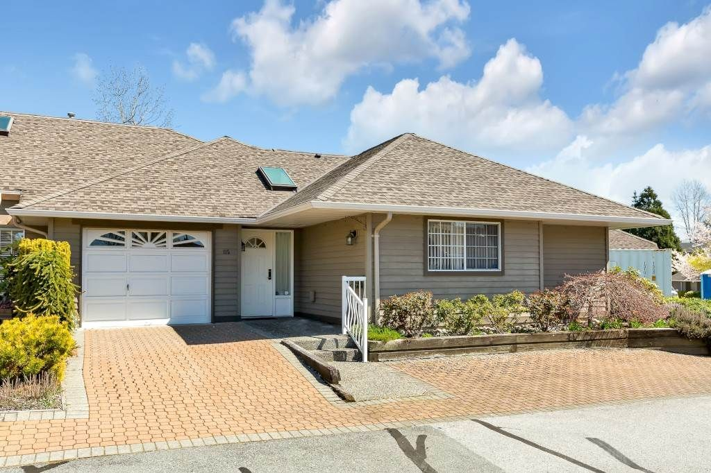 """Main Photo: 115 16275 15 Avenue in Surrey: King George Corridor Townhouse for sale in """"Sunrise Point"""" (South Surrey White Rock)  : MLS®# R2565480"""
