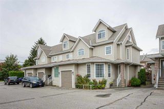 """Photo 1: 3 9472 WOODBINE Street in Chilliwack: Chilliwack E Young-Yale Townhouse for sale in """"Chateau View"""" : MLS®# R2520198"""