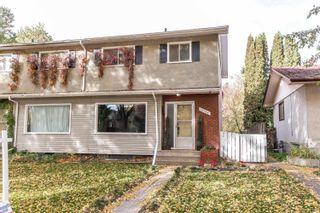 Photo 1: 10734 70 Avenue in Edmonton: Zone 15 House Half Duplex for sale : MLS®# E4264196