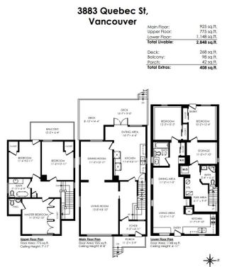 """Photo 34: 3883 QUEBEC Street in Vancouver: Main House for sale in """"Main Street"""" (Vancouver East)  : MLS®# R2619586"""
