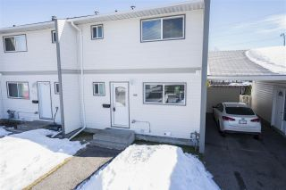 Photo 1: 166 111 TABOR Boulevard in Prince George: Heritage Townhouse for sale (PG City West (Zone 71))  : MLS®# R2442229