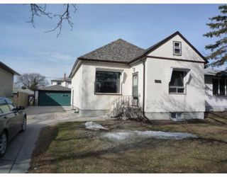 Photo 1: 995 TALBOT Avenue in WINNIPEG: East Kildonan Residential for sale (North East Winnipeg)  : MLS®# 2905847