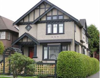 Photo 1: 698 W 19TH Avenue in Vancouver: Cambie House for sale (Vancouver West)  : MLS®# V754749