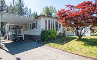 """Photo 1: 48 2305 200 Street in Langley: Brookswood Langley Manufactured Home for sale in """"CEDAR LANE"""" : MLS®# R2061584"""