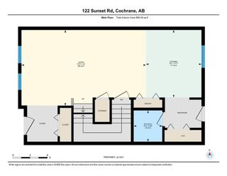 Photo 38: 122 Sunset Road: Cochrane Row/Townhouse for sale : MLS®# A1127717